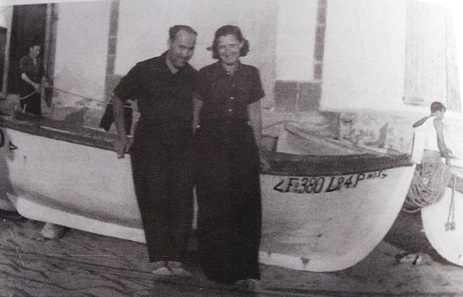 Kurt i Rosl a Sant Pol de Mar  (30 juny  1934)