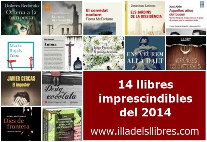 14 llibres del 2014