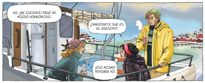 camilla lackberg comic