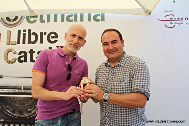 Lliurament V Premi L'illa dels Llibres a Alejandro Palomas 02