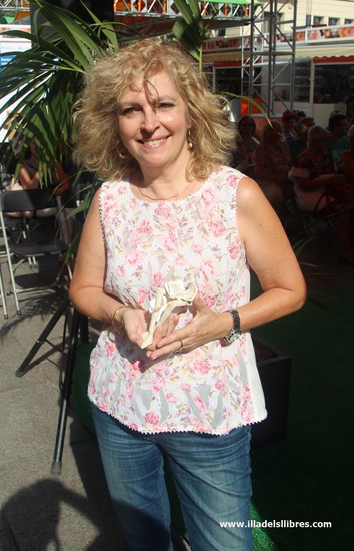 Maria Carme Roca Premi L'illa dels Llibres 2016 -02