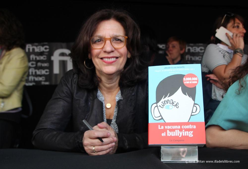 R J Palacio autora Wonder Sant Jordi